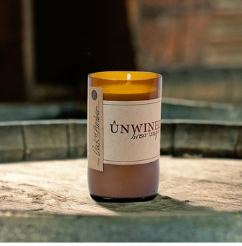 Oak & Amber 8 oz. Brew League Unwined Candle