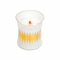 CLOSEOUT - NEW! - Oatmeal Cookie Scandinavian Hourglass WoodWick Candle