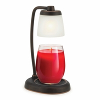 CLOSEOUT - Oil Rubbed Bronze Halo Candle Warmer Lamp