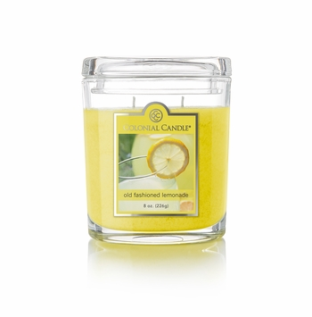 Old Fashioned Lemonade 8 oz. Oval Jar Colonial Candle