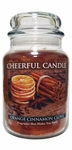 Orange Cinnamon Clove 24 oz. Cheerful Candle by A Cheerful Giver | Cheerful Candle 24 oz. Jars by A Cheerful Giver