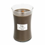 NEW! - Oudwood WoodWick Candle 22 oz. | Woodwick Candles 22 oz. Large Jars
