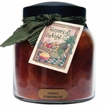 Papa's Pumpkin Pie 34 oz. Papa Jar Keeper's of the Light Candle by A Cheerful Giver | Keeper's of the Light 34 oz. Papa Jar Candles by A Cheerful Giver
