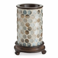 CLOSEOUT - Pearl Glass Illumination Fragrance Warmer