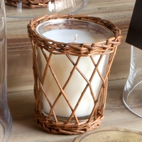 CLOSEOUT - Peppermint Bark Willow Candle by Park Hill Collection