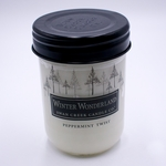 NEW! - Peppermint Twist 12 oz. Swan Creek Christmas Traditions Jar Candle | Autumn & Christmas Traditions Jar Candles