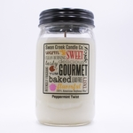 NEW! - Peppermint Twist 24 oz. Swan Creek Kitchen Pantry Jar Candle | 24 oz. Swan Creek Kitchen Pantry Jar Candles