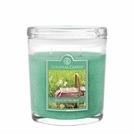 CLOSEOUT - Picnic In The Park 8 oz. Oval Jar Colonial Candle | Colonial Candle Closeouts