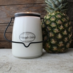 NEW! - Pineapple Gelato 22 oz. Butter Jar Candle by Milkhouse Candle Creamery | 22 oz. Butter Jar Candles by Milkhouse Candle Creamery