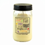 NEW! - Pineapple Vanilla Sugar 24 oz. Swan Creek Kitchen Pantry Jar Candle | New Releases by Swan Creek Candle