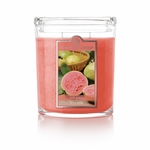CLOSEOUT - Pink Guava 22 oz. Oval Jar Colonial Candle | Colonial Candle Closeouts