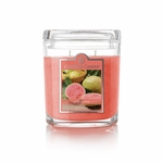 NEW! - Pink Guava 8 oz. Oval Jar Colonial Candle | 8 oz. Oval Jar Colonial Candle