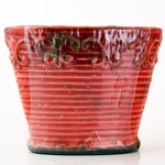 CLOSEOUT - Pink Raspberry Lemonade Vintage Vase Swan Creek Candle (Color: Red) | Swan Creek Candles Closeouts