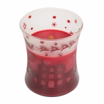 CLOSEOUT - Pomegranate Scenic Hourglass WoodWick Candle | Discontinued & Seasonal WoodWick Items!