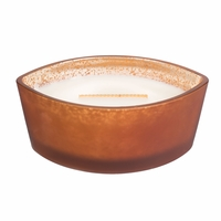 CLOSEOUT - Pumpkin Butter Ombre Ellipse WoodWick Candle