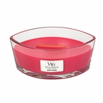 Radish & Rhubarb WoodWick Candle 16 oz. HearthWick Flame | WoodWick Spring & Summer Clearance