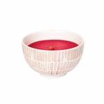 CLOSEOUT-~Raspberry Yuzu Summer Sweets Bowl WoodWick Candle | Discontinued & Seasonal WoodWick Items!