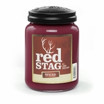 Red Stag Spiced 26 oz. Large Jar Candleberry Candle | Large Jar Candles by Candleberry