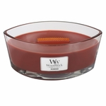Redwood WoodWick Candle 16 oz. HearthWick Flame | HearthWick Ellipse Glass Candles