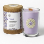 Relax (Geranium Lavender) Seeking Balance 6.5 oz. Candle by Root | Seeking Balance Spa Candles by Root