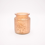 NEW! - Roasted Espresso Small Gilded Glass Jar Candle Swan Creek Candle | NEW! - Small Gilded Glass Jar Candle Swan Creek Candle