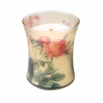 _DISCONTINUED -  ~Rose Botanical Hourglass WoodWick Candle | Discontinued & Seasonal WoodWick Items!