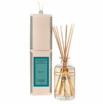 Rosemary Garden Aromatic Reed Diffuser Votivo Candle
