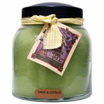 Sage & Citrus 34 oz. Papa Jar Keeper's of the Light Candle by A Cheerful Giver | Keeper's of the Light 34 oz. Papa Jar Candles by A Cheerful Giver