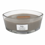 Sand & Driftwood WoodWick Candle 16 oz. HearthWick Flame | HearthWick Ellipse Glass Candles