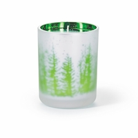 CLOSEOUT - Scotch Pine  16 oz. Holiday Shimmer Glass Candle by Root