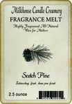 CLOSEOUT - Scotch Pine Fragrance Melt | Milkhouse Candle Creamery Closeouts