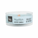 Sea Salt & Cotton Petite WoodWick Candle | WoodWick Petite Candles