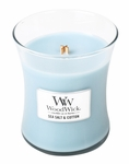 Sea Salt & Cotton WoodWick Candle 10 oz. | Jar Candles - Woodwick Fall & Winter 2015