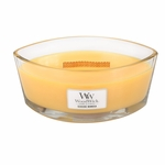 Seaside Mimosa WoodWick Candle 16 oz.  HearthWick Flame | HearthWick Ellipse Glass Candles