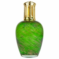 CLOSEOUT - Shimmery Green Fragrance Lamp by La Tee Da