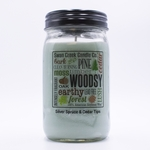 NEW! - Silver Spruce & Cedar Tips 24 oz. Swan Creek Kitchen Pantry Jar Candle | 24 oz. Swan Creek Kitchen Pantry Jar Candles