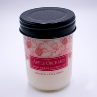 CLOSEOUT - Smoked Applewood 12 oz. Swan Creek Autumn Traditions Jar Candle