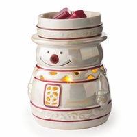 CLOSEOUT - Snowy Holiday Fragrance Warmer
