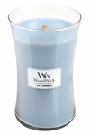 Soft Chambray WoodWick Candle 22 oz. | Woodwick Candles 22 oz. Large Jars