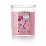 CLOSEOUT - Soft Peony 22 oz. Oval Jar Colonial Candle | Colonial Candle Closeouts