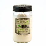 NEW! - Southern Sweet Tea 24 oz. Swan Creek Kitchen Pantry Jar Candle | NEW! - New Releases by Swan Creek Candle