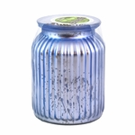 CLOSEOUT - Southern Sweet Tea Gilded Glass Large Jar Swan Creek Candle   Swan Creek Candles Closeouts