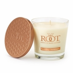 Sparkling Champagne 6.3 oz. Small Honeycomb Veriglass Candle by Root | Small Honeycomb Veriglass Candles by Root