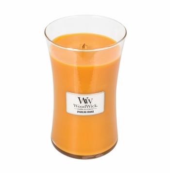 _DISCONTINUED_Sparkling Orange WoodWick Candle 22 oz.