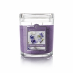 CLOSEOUT - Sugared Violet Petals 8 oz. Oval Jar Colonial Candle | Colonial Candle Closeouts