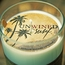 Surf - Coconut Lime 12 oz. Unwined Candle