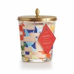 Sweet Hibiscus Cameo Jar by Illume Candle | Illume Candle Closeouts