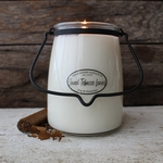 NEW! - Sweet Tobacco Leaves 22 oz. Butter Jar Candle by Milkhouse Candle Creamery | 22 oz. Butter Jar Candles by Milkhouse Candle Creamery