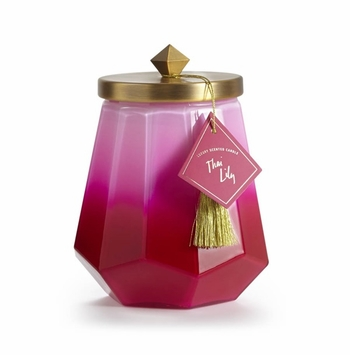 _DISCONTINUED_Thai Lily Laurel Glass Illume Candle