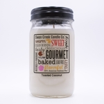 CLOSEOUT - Toasted Coconut 24 oz. Swan Creek Kitchen Pantry Jar Candle | Swan Creek Candles Closeouts
